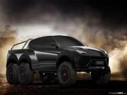 Tư vấn - Lạ mắt với ảnh render Lamborghini Urus 6x6