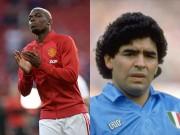 Bóng đá - Kỳ quặc: Pogba được so sánh với… Maradona