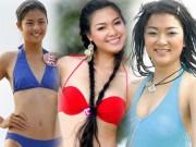 """Thời trang - """"Khai quật"""" ảnh bikini xưa cũ của các hoa hậu Việt"""