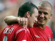 """Bóng đá - Beckham viết """"tâm thư"""" muốn Rooney phá sâu kỷ lục"""