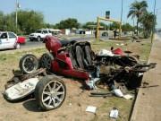 Tư vấn - Koenigsegg CCX giá 30 tỷ đồng nát vụn khi gặp nạn
