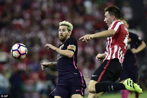 Tin sáng 5/9: Barca âu lo với chấn thương của Messi