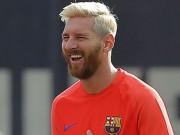 """Bóng đá - Tiết lộ: Messi nhuộm tóc vàng vì… """"chán đời"""""""