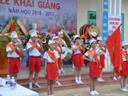 Giáo dục - du học - Lễ khai giảng ở ngôi trường mang tên Hoàng Sa