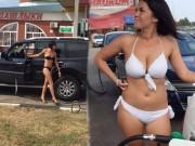 Bạn trẻ - Cuộc sống - Nga: Gái xinh mặc sexy sẽ được đổ xăng miễn phí