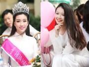 Bạn trẻ - Cuộc sống - Nữ sinh trường hoa hậu Mỹ Linh xinh đẹp ngày khai giảng