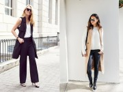 Thời trang - Blazer không tay – Kiểu áo khoác thu này không thể thiếu