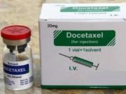 Sức khỏe đời sống - Dùng thuốc điều trị ung thư docetaxel có thể gây ngộ độc