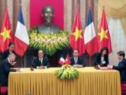 Tin tức trong ngày - Sau hội đàm, Việt Nam ký hợp đồng mua 40 máy bay Airbus