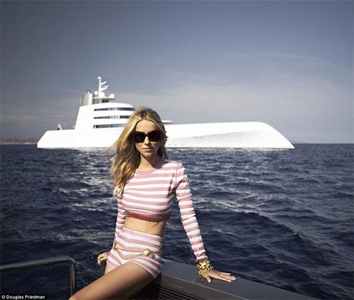 Vợ tỷ phú ngân hàng Nga vừa sexy vừa sành thời trang - 8