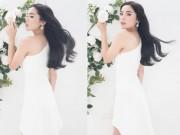 Thời trang - Kỳ Duyên hóa nàng thơ trong sắc trắng tinh khôi
