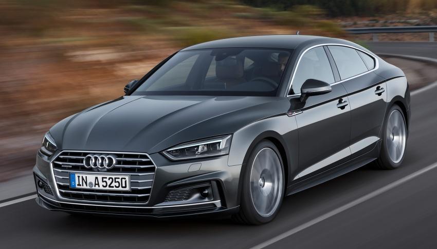 Audi A5, S5 Sportback, A5 Sportback g-tron mới lộ diện