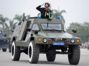 """Tin tức trong ngày - Ngắm dàn xe chống đạn """"khủng"""" của lực lượng CSCĐ"""