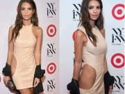 """Thời trang - """"Mỹ nhân khỏa thân"""" gây sốc với váy khoét sườn cực dị"""