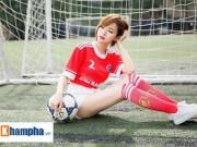 """Bóng đá - Hot girl Tú Linh: """"MU sẽ thắng kịch tính Man City"""""""