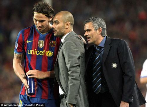 Ibra và dàn sao từng bái cả Mourinho & Pep là thầy