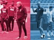 Bóng đá - Tập luyện trước derby: MU bí mật, Man City tươi vui