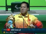 Thể thao - Người hùng Lê Văn Công xuất sắc nhất Paralympic ngày 1