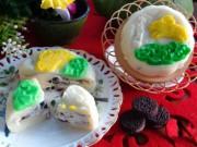 Ẩm thực - Bánh Trung thu tuyết nhân kem oreo mát lạnh dẻo thơm