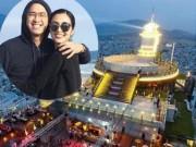 """Đời sống Showbiz - Vợ chồng Hà Tăng ôm nhau hạnh phúc ở nơi """"sang chảnh"""""""