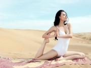 Làm đẹp - Da sáng mịn như ngọc nhờ các động tác yoga cực dễ