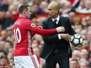 Bóng đá - Video: Rooney suýt xô xát với Pep ngoài đường biên