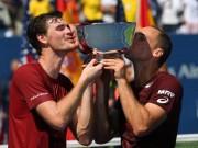 Thể thao - Tin thể thao HOT 11/9: Anh trai Murray vô địch đôi nam US Open