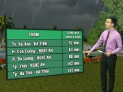 Tin tức trong ngày - Dự báo thời tiết VTV 11/9: Bắc Bộ giảm mưa, tiết trời dịu mát