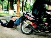 An ninh Xã hội - Truy bắt 3 thanh niên cướp xe của cô gái trẻ