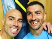 Bóng đá - Fellaini chơi cùi chỏ, SAO Man City rụng răng