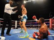 """Thể thao - Boxing: """"Cậu bé vàng"""" Golovkin khiến đối thủ nhập viện"""