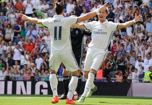 Ronaldo linh cảm Real sẽ truất ngôi Barca mùa này