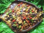 Ẩm thực - Giòn thơm cá đuối nướng Quảng Bình