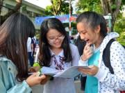 Giáo dục - du học - Thi tổ hợp: Làm sao xét tuyển theo khối?