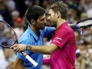Thể thao - Góc ảnh CK US Open: Djokovic đổ máu, Wawrinka rơi lệ