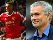 """Bóng đá - MU: """"Trảm"""" sao, Mourinho trao cờ cho Rashford"""