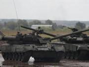 Thế giới - Dàn tăng T-14 Armata Nga lần đầu khai hỏa khoe uy lực