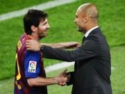 """Bóng đá - Guardiola: """"Messi số 2, không ai số 1"""""""