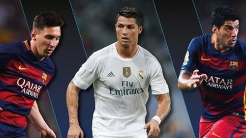Đội hình trong mơ Cúp C1: CR7 sát cánh Messi-Suarez