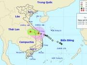 Tin tức trong ngày - Bão số 4 suy yếu thành áp thấp nhiệt đới