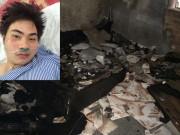 An ninh Xã hội - Kẻ ngáo đá ôm bình gas tự sát khiến 4 công an bị thương