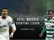 Bóng đá - Chi tiết Real - Sporting Lisbon: Người hùng Morata (KT)