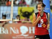 Thể thao - Bóng chuyền nữ: Hoa khôi Kim Huệ vẫn cực đỉnh ở tuổi 34
