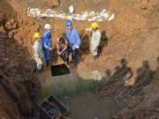 Tin tức trong ngày - Đường ống dẫn nước sạch Sông Đà gặp sự cố lần thứ 19