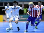 """Bóng đá - Thua đậm Paraguay, HLV ĐT futsal VN """"mổ xẻ"""" về học trò"""