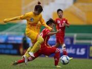 Bóng đá - Giải bóng đá nữ quốc gia: Sau hai lượt đi, về là đá knock out
