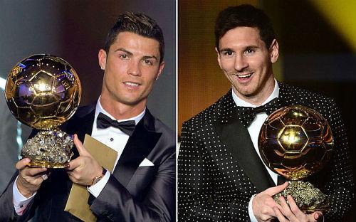 Danh hiệu QBV FIFA do chính Ronaldo và Messi thay thế nhau nhận trong nhiều kỳ qua