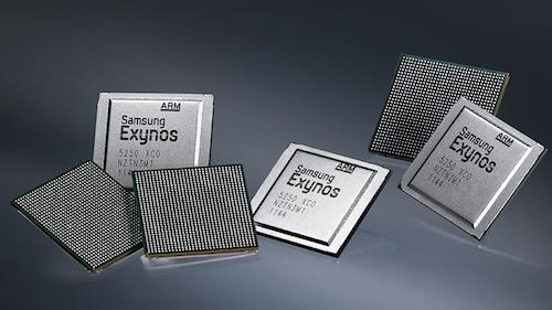 """Samsung đang hoàn thiện vi xử lý di động có xung nhịp """"khủng"""""""