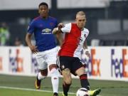 Bóng đá - Chi tiết Feyenoord – MU: Nếm trái đắng (KT)