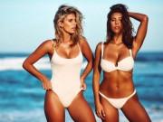 Thời trang - Gặp 2 mỹ nữ mặc bikini cả ngày không biết chán